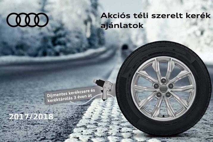 Audi téli szerelt kerekek