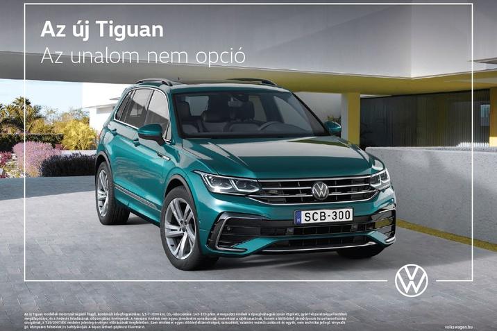 Volkswagen az új Tiguan