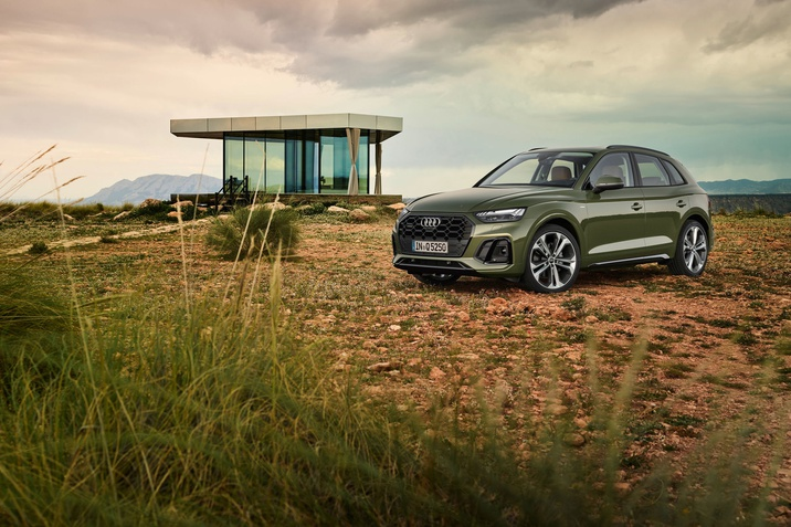 Új Audi Q5